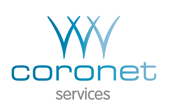 Coronet services ltd website logo